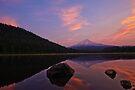 Trillium Lake Sunrise by Dan Mihai