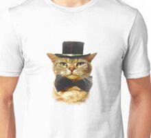 Top Hat Retro Cat Tee! Unisex T-Shirt