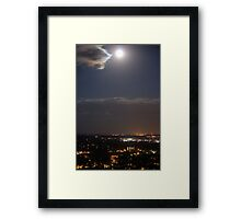Blue Moon Over Canon Framed Print