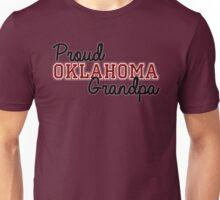 Proud Oklahoma Grandpa for Dark Backgrounds Unisex T-Shirt