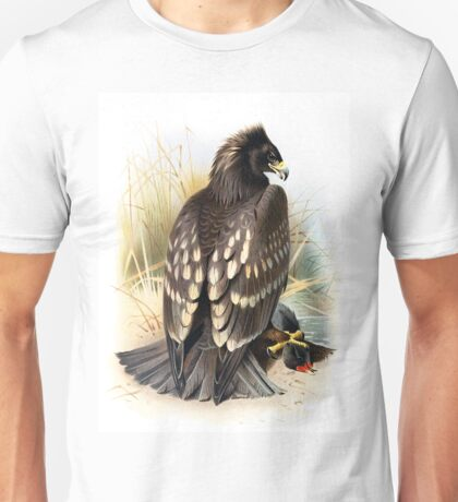 Spotted Eagle illustration Unisex T-Shirt