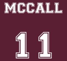 Scott McCall Jersey from Teen Wolf - White Text T-Shirt