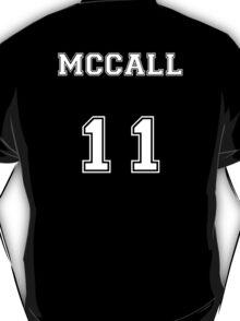 Scott McCall Jersey from Teen Wolf - White Text T-Shirt
