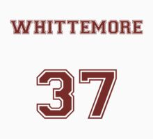 Jackson Whittemore Jersey from Teen Wolf - Red Text by CaptainFlowers5