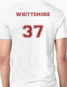 Jackson Whittemore Jersey from Teen Wolf - Red Text T-Shirt