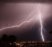 Adelaide winter storm by Tim Eckert