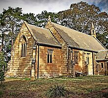 Holy Trinity Anglican Church, Berrima, Australia by TonyCrehan