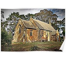 Holy Trinity Anglican Church, Berrima, Australia Poster