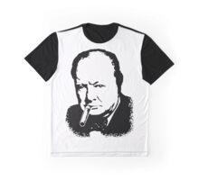 CHURCHILL, Sir Winston Leonard Spencer Churchill, Greatest War Leader Graphic T-Shirt