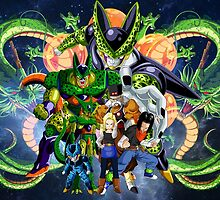 DBZ - Cell Saga Androids by J. Danion