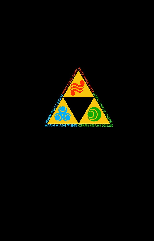Triforce Elements  by ermainldy