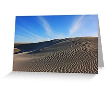 Farewell Spit dune 2 Greeting Card