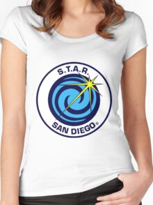 STAR Logo Women's Fitted Scoop T-Shirt