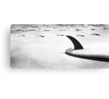 Single fin Surfboard Canvas Print