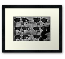 Cat Shades and IZOD Framed Print