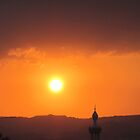 Sunset over Aqaba by Brad MacDuff