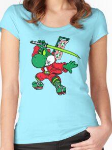 YOSHI-MITSU! Women's Fitted Scoop T-Shirt