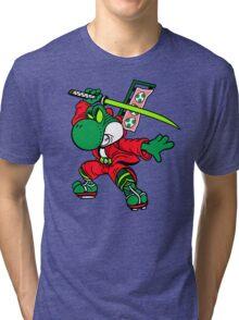 YOSHI-MITSU! Tri-blend T-Shirt