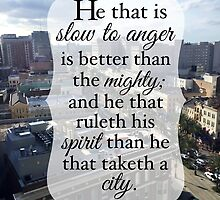 Slow to Anger by Sue Ellen Thompson