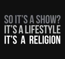 Show. Lifestyle. Religion. (v2) Kids Tee