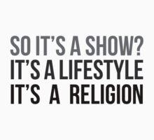 Show. Lifestyle. Religion. (v1) by sstilinski