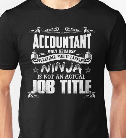 Proud Accountant Unisex T-Shirt