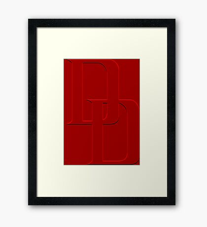 Without Fear Framed Print