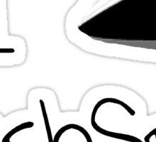 I Ship FlashSpell! Sticker