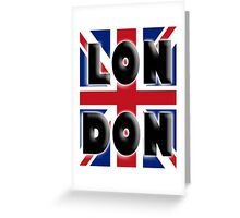UNION JACK, LONDON, Brits, ENGLAND, IN COLOUR, UK, GB, Britain, BRITISH, Greeting Card