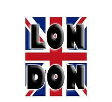 UNION JACK, LONDON, Brits, ENGLAND, IN COLOUR, UK, Britain, BRITISH, by TOM HILL - Designer