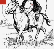 The Public Health Nurse -- Red Cross Sticker