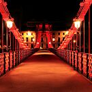South Portland Street Suspension Bridge  by Grant Glendinning