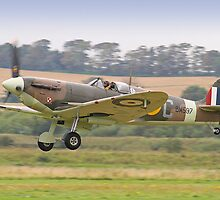 Spitfire VB BM597 Scramble - Shoreham Airshow 2012 by Colin J Williams Photography