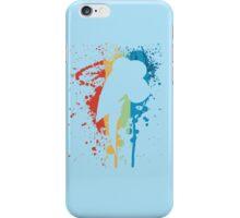 Rainbow Dash Paint Drops Original iPhone Cover iPhone Case/Skin
