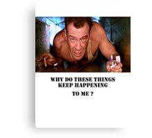 Die Hard - Bruce Willis Canvas Print