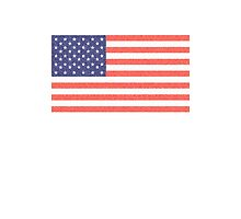 American, Faded Flag, Stars & Stripes, USA, Old Glory, The Star-Spangled Banner, America, Americana, USA by TOM HILL - Designer