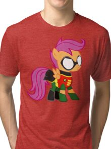 Scootaloo Is Robin Tri-blend T-Shirt