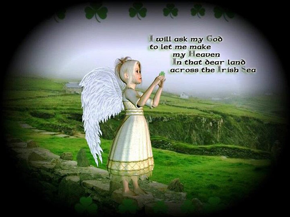 Little Irish Angel by Kristie Theobald