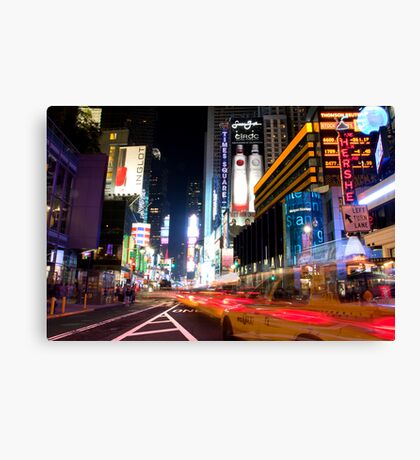 Times Square Speed Canvas Print