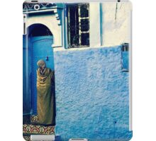 THE COLOUR OF HER DRESS IS PERFECT WITH THE REST OF THE PLACE!!! Morocco iPad Case/Skin