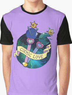 Cosmic Love Neptune Graphic T-Shirt