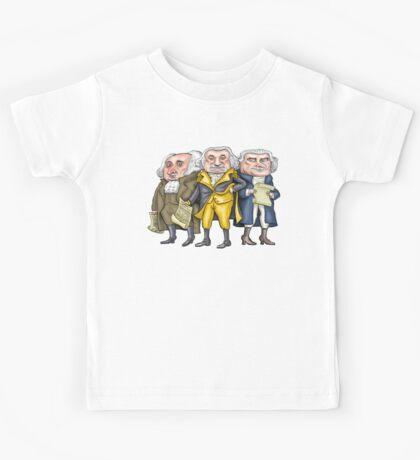 Founding Fathers | By Graeme MacKay Kids Tee
