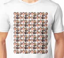 Nicolas Cage Face Collage Unisex T-Shirt