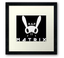 BAP MATOKI MATRIX Framed Print