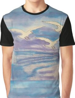 Over The Sea Graphic T-Shirt