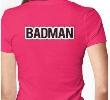 BADMAN  shirt - Dragonball Z - Vegeta cosplay Womens Fitted T-Shirt