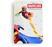 """""""Marvelous"""" LEGO Holiday Card Collection Canvas Print"""