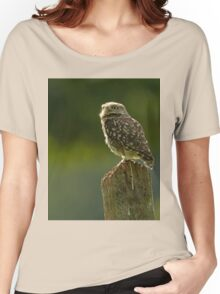 Backlit Little Owl Women's Relaxed Fit T-Shirt