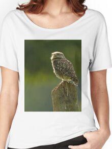 Backlit Little Owl Women's Relaxed Fit T-Shirt