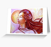 Queen of the dawn Greeting Card